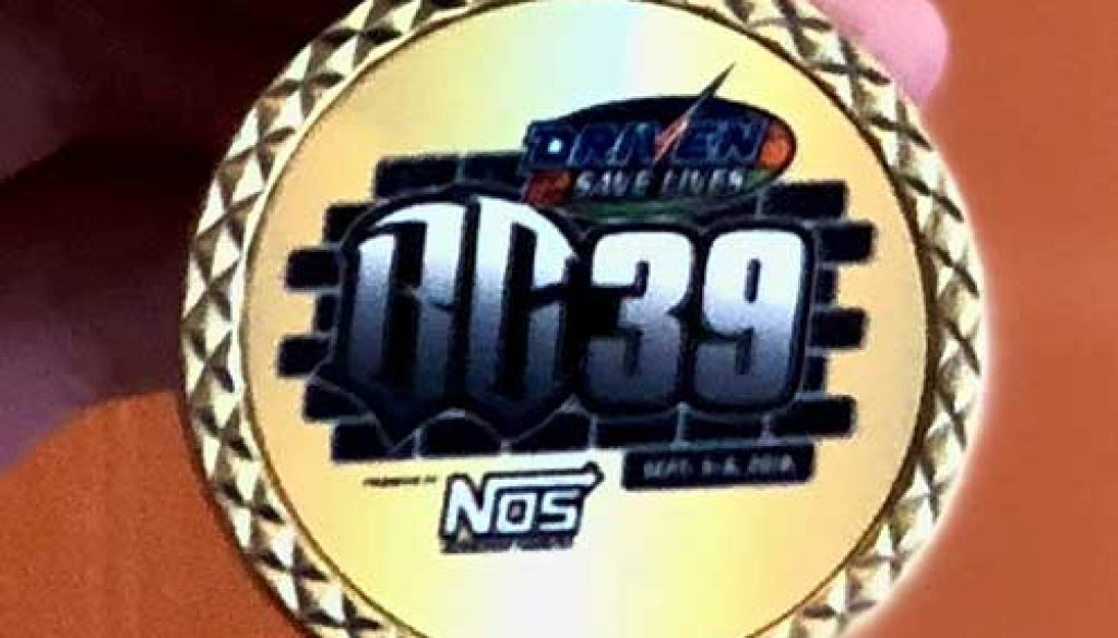 Tim Clauson to Present Challenge Coins to Drivers at